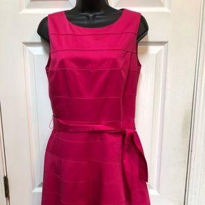 Calvin Klein Pink Classic Style Sheath Dress
